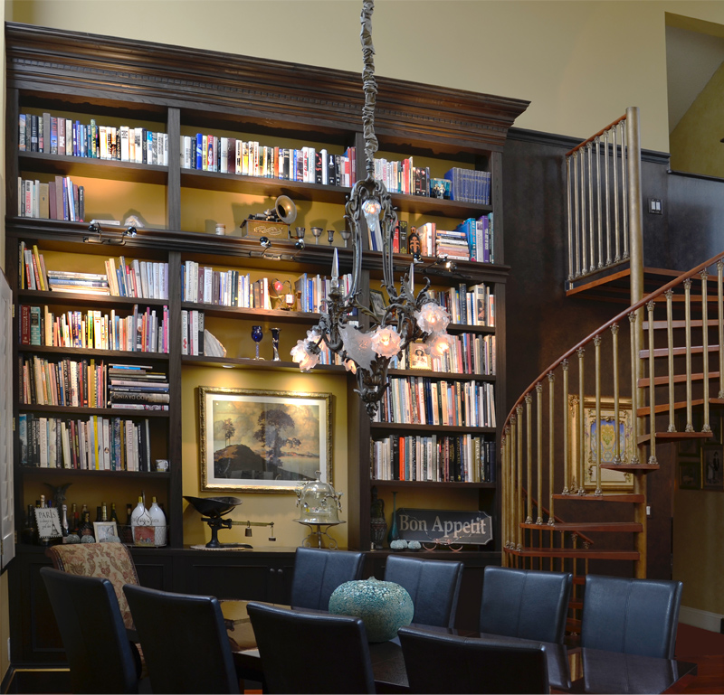 Dining Room Library Bookcase