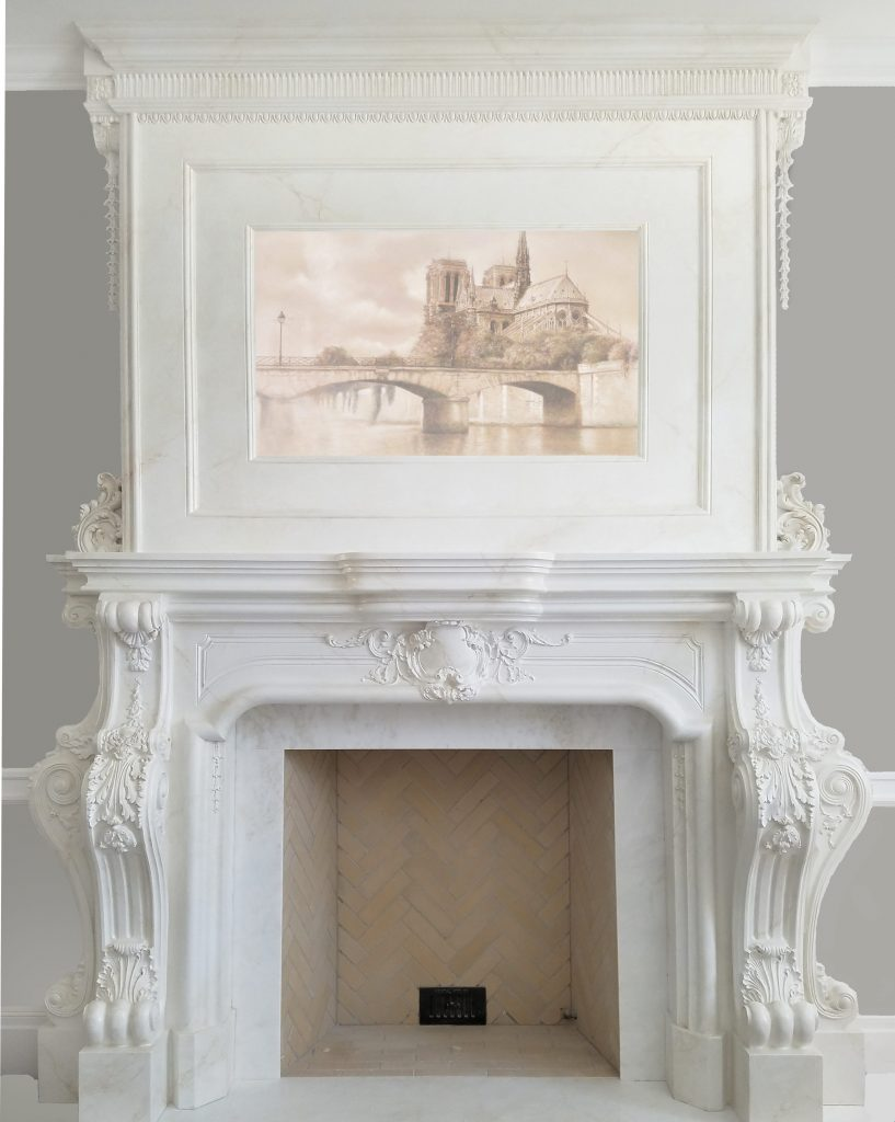 Fireplace mantels and over mantels k salowe co - Fireplace mantel piece ...